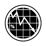 lower interest rate icon